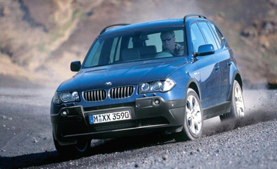BMW X3 3.0i - Slide 1