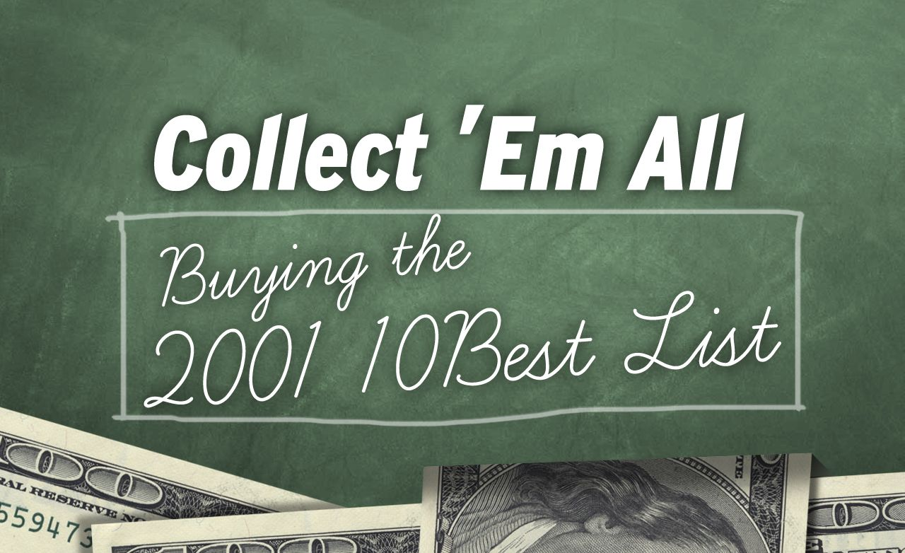 Collect 'Em All: Buying the 2001 10Best List