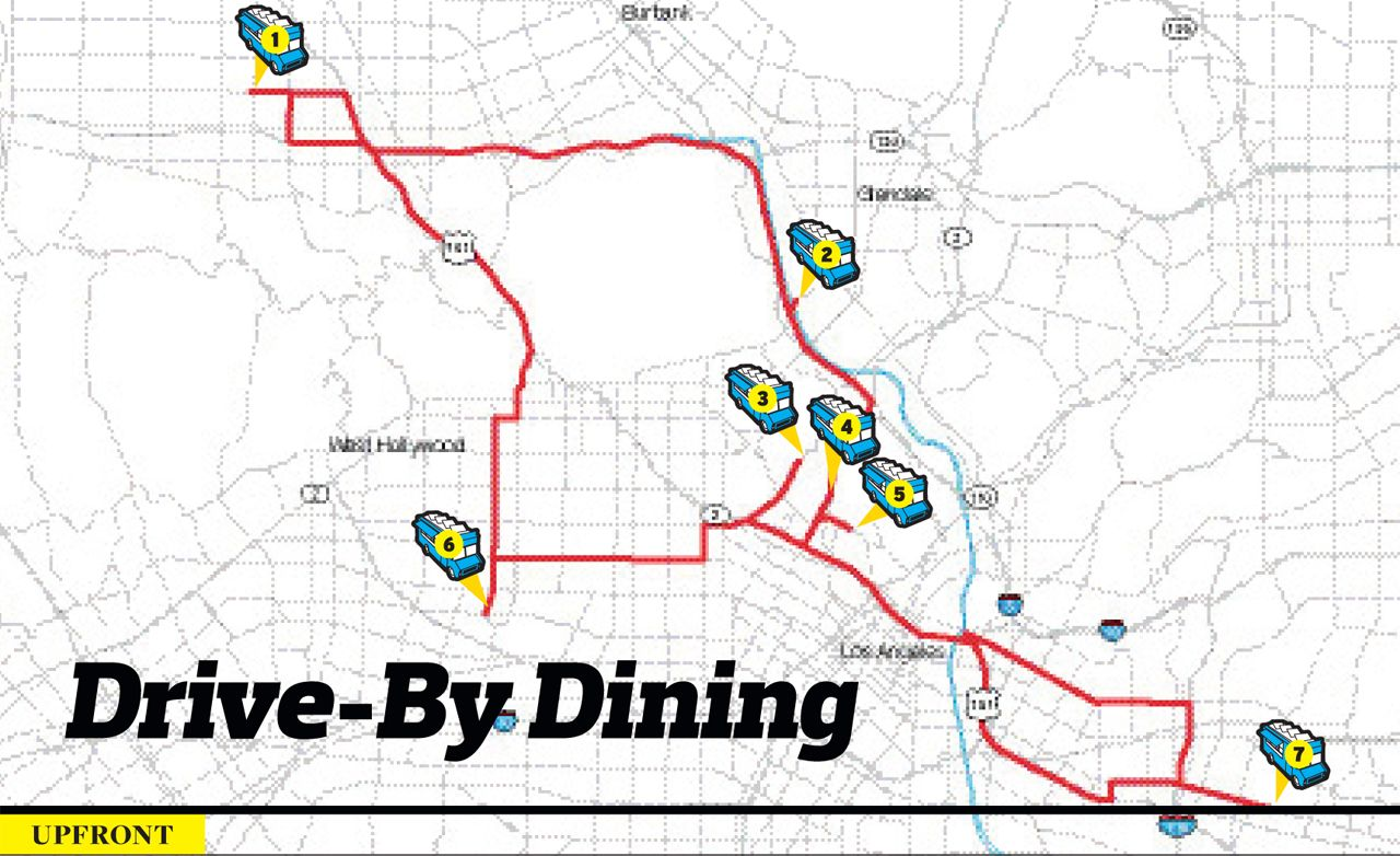 Drive-By Dining: Rating L.A. Food-Truck Eats