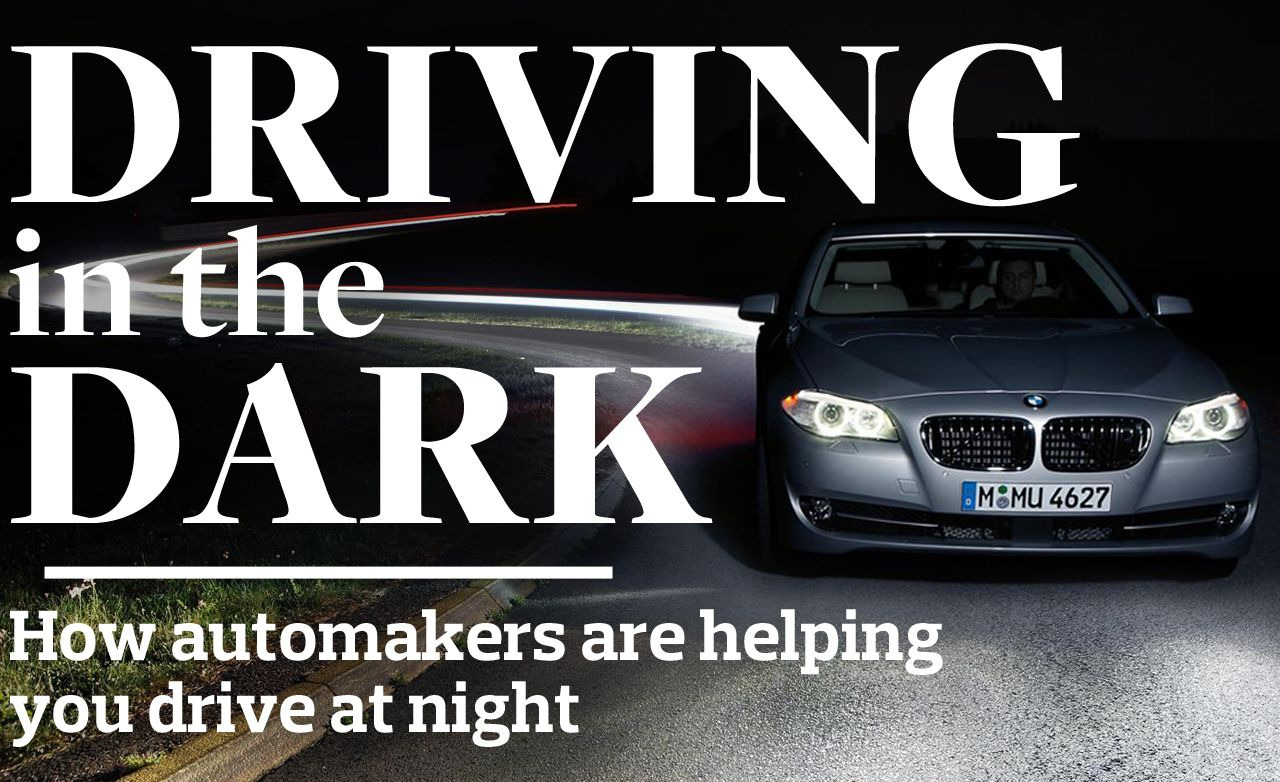 Driving In The Dark 8211 Feature Car And Driver Warn Heat An Automobile
