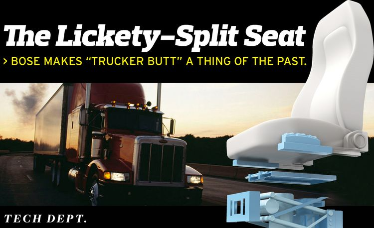 The Bose Ride Truck Seating System