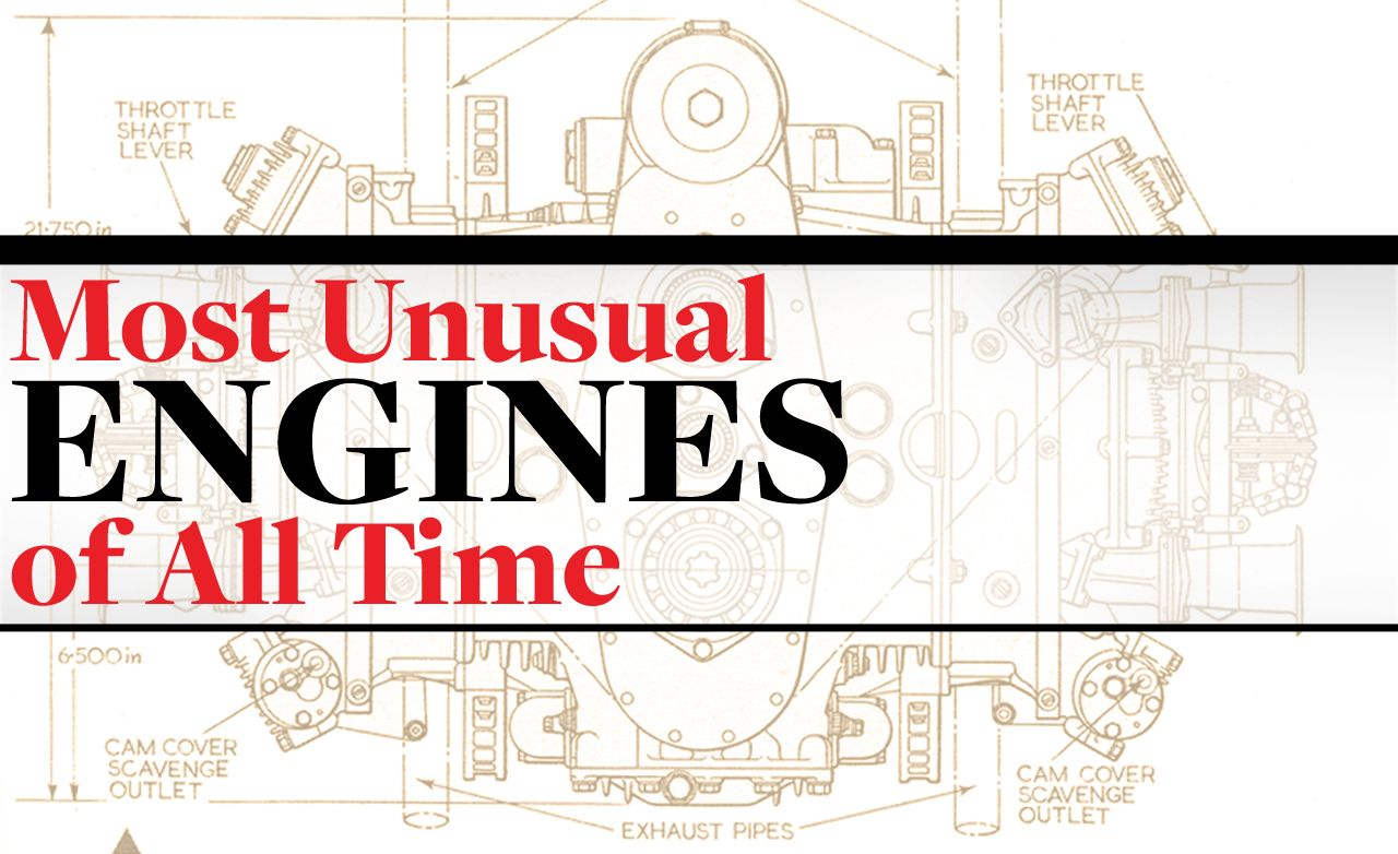 The 10 Most Unusual Engines of All Time