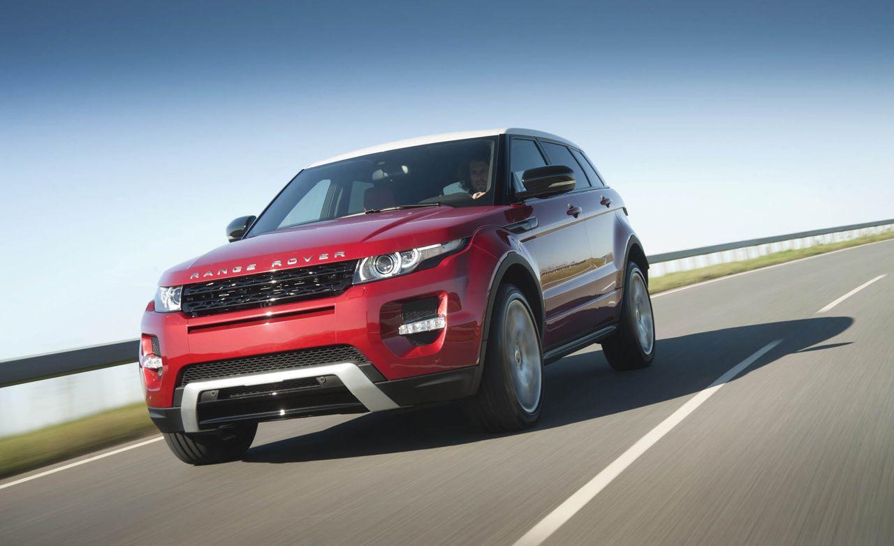 2012 Land Rover Range Rover Evoque Range Rover Evoque