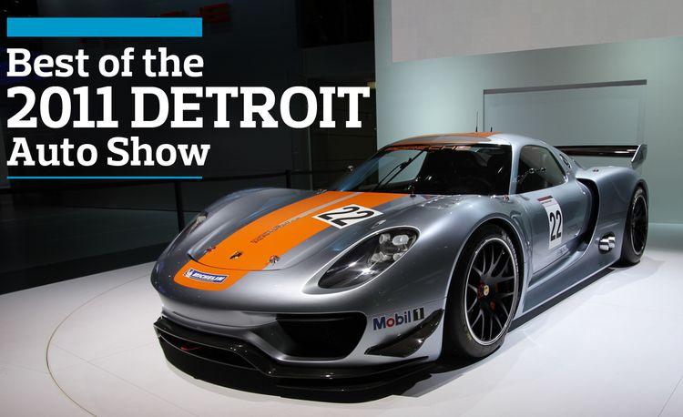 Best of the 2011 Detroit Auto Show