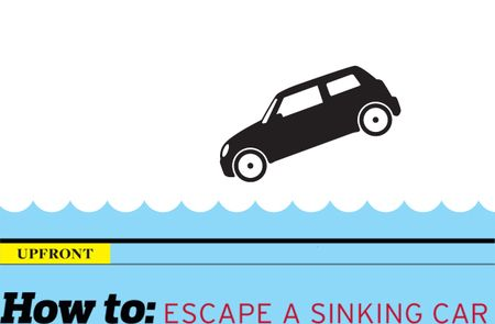 How to: Escape from a Sinking Car