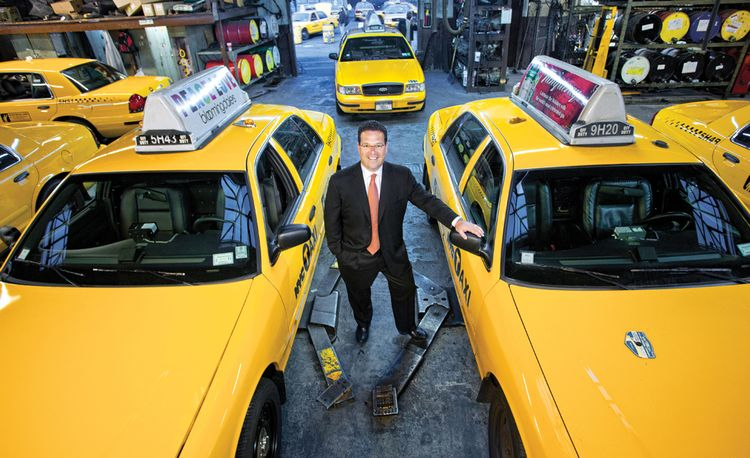 Taxi Tough: A Look Inside an NYC Cab Shop