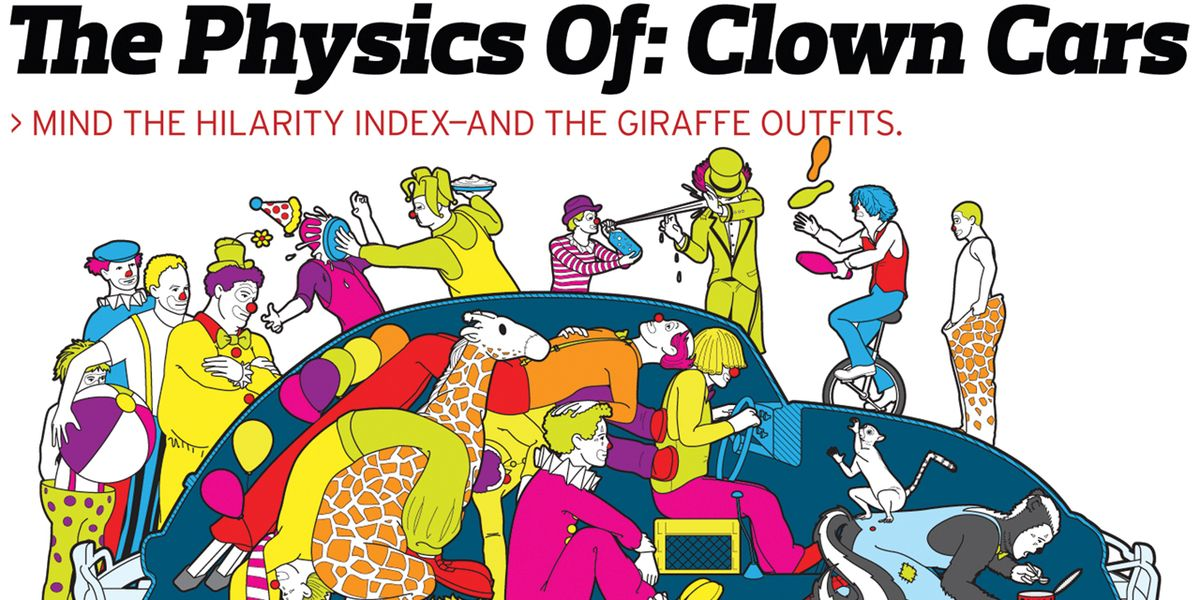 The Physics Of: Clown Cars – Feature – Car and Driver