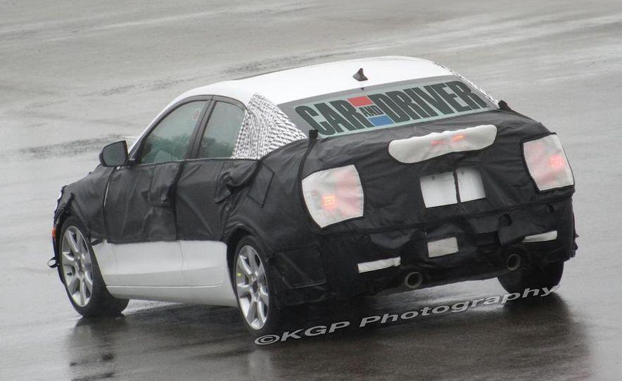 2013 Cadillac ATS (spy photo) - Slide 12