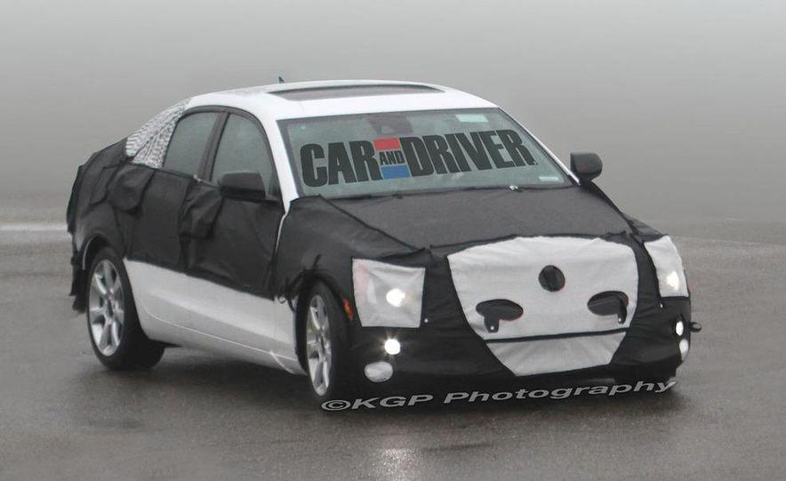 2013 Cadillac ATS (spy photo) - Slide 15