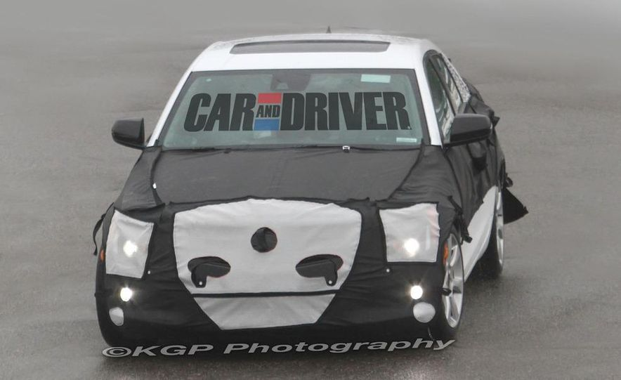 2013 Cadillac ATS (spy photo) - Slide 16