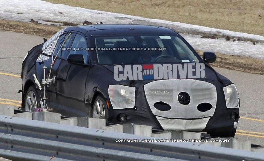 2013 Cadillac ATS (spy photo) - Slide 1