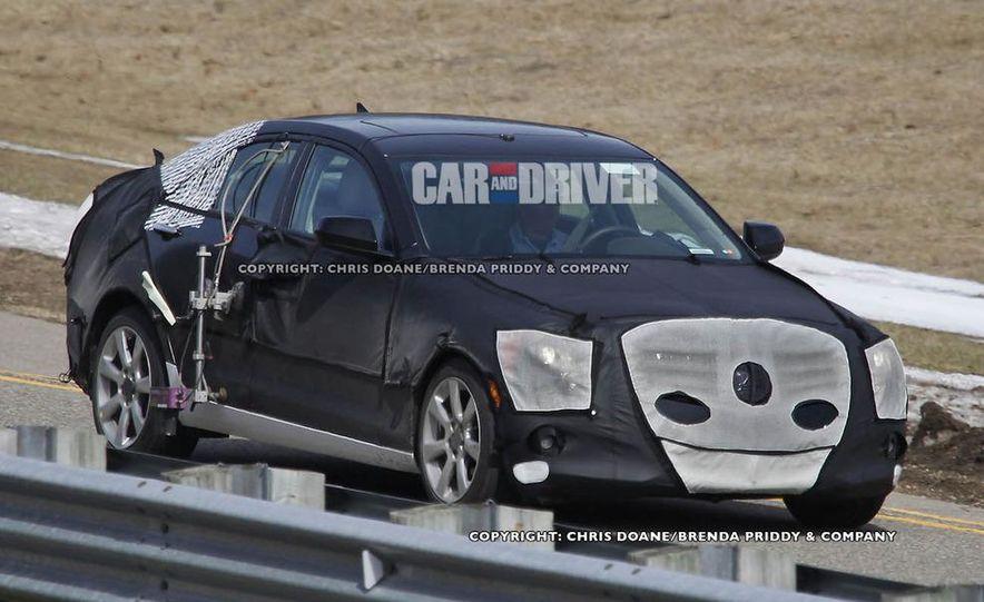 2013 Cadillac ATS (spy photo) - Slide 2