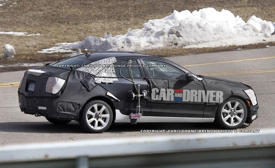 2013 Cadillac ATS (spy photo) - Slide 3