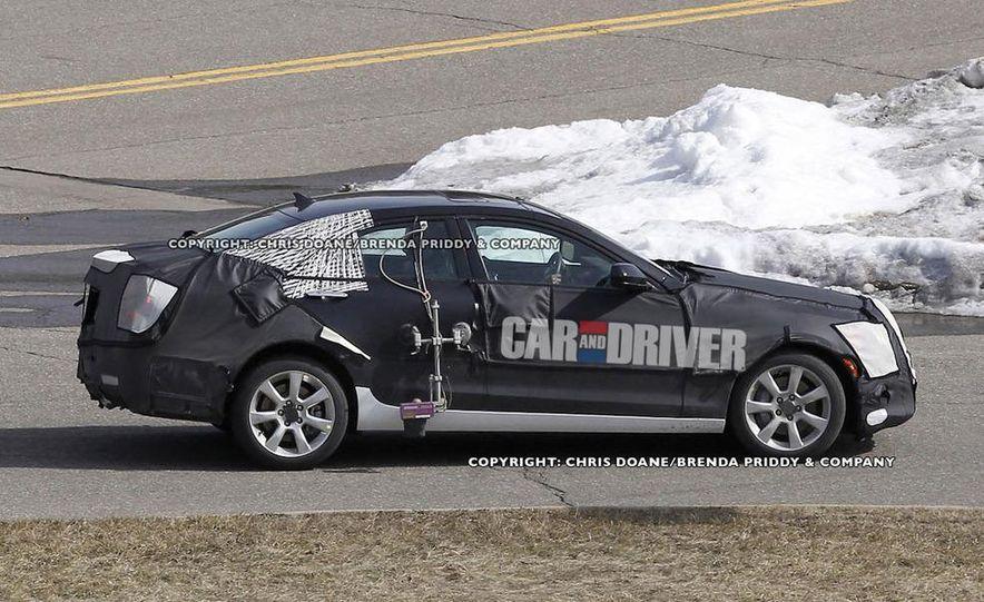 2013 Cadillac ATS (spy photo) - Slide 4