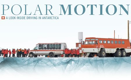 Polar Motion: A Look Inside Driving in Antarctica