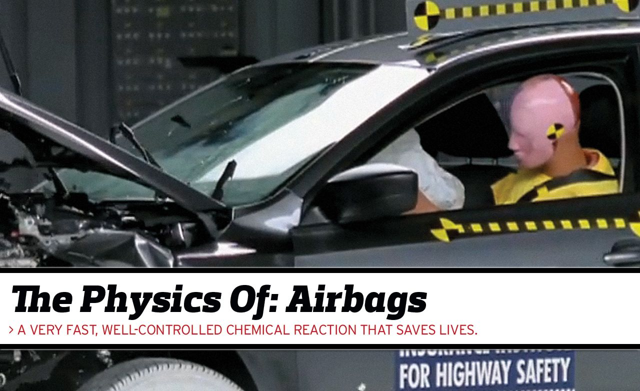 The Physics Of Airbags Feature Car And Driver