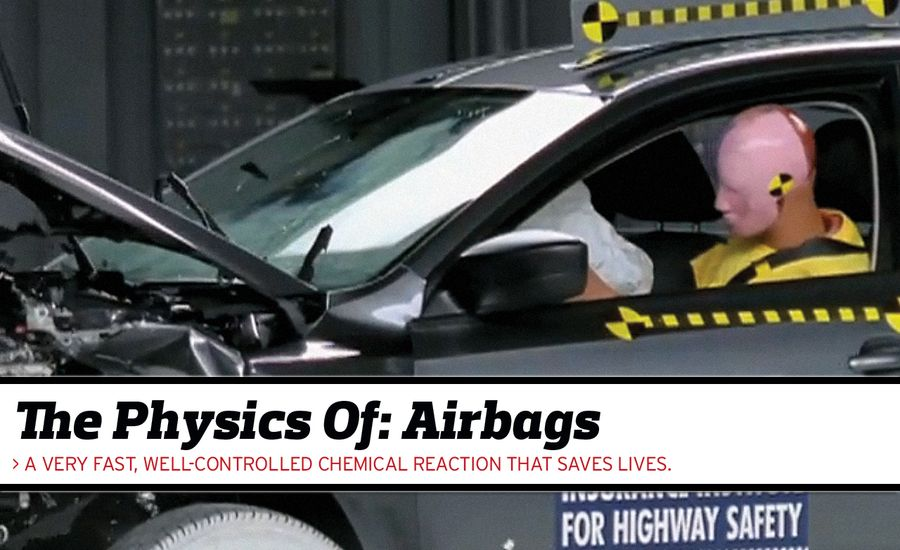 the physics of airbags feature car and driver. Black Bedroom Furniture Sets. Home Design Ideas