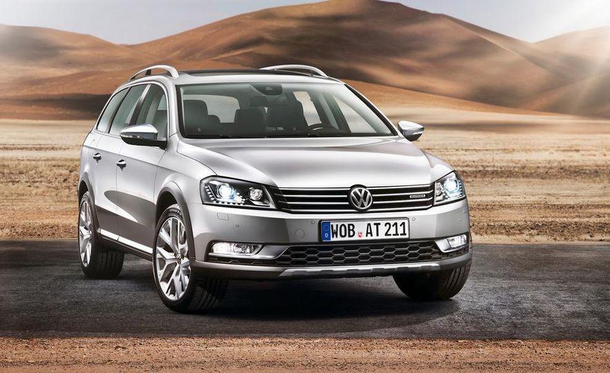 2012 Volkswagen Passat Alltrack - Slide 16