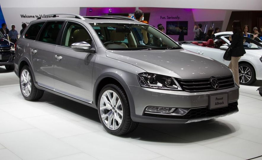 2012 Volkswagen Passat Alltrack - Slide 4