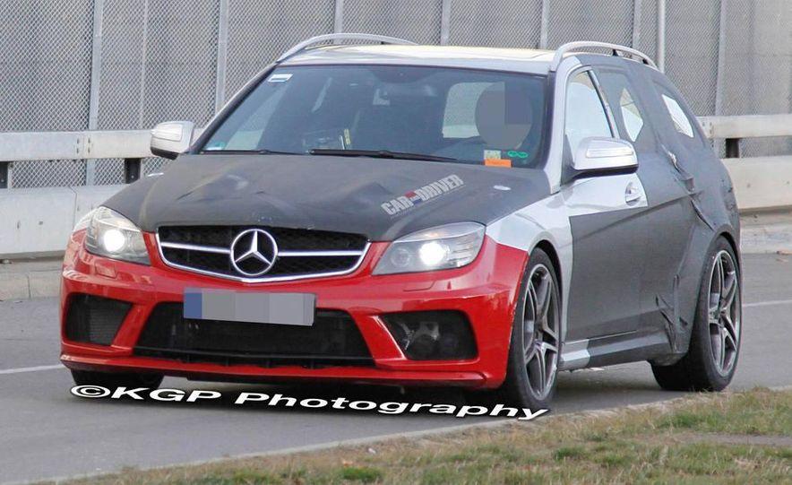 MercedesBenz C63 AMG Estate Black Series spy photo Pictures
