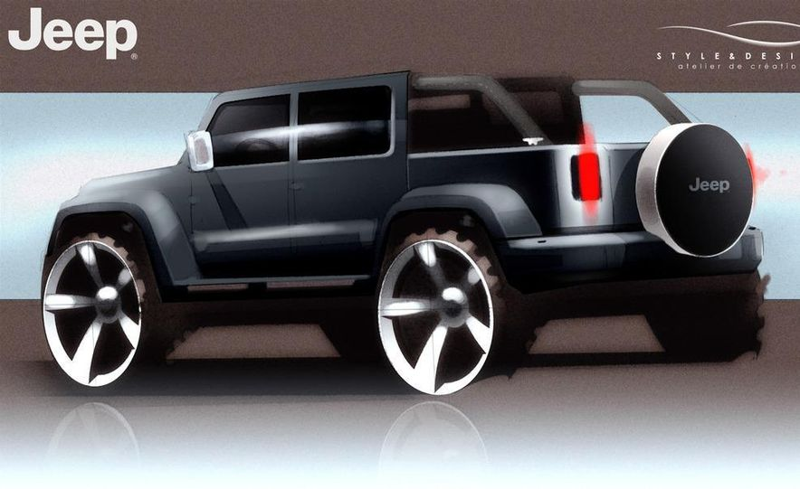 Jeep Wrangler Nautic Concept by Style and Design - Slide 15