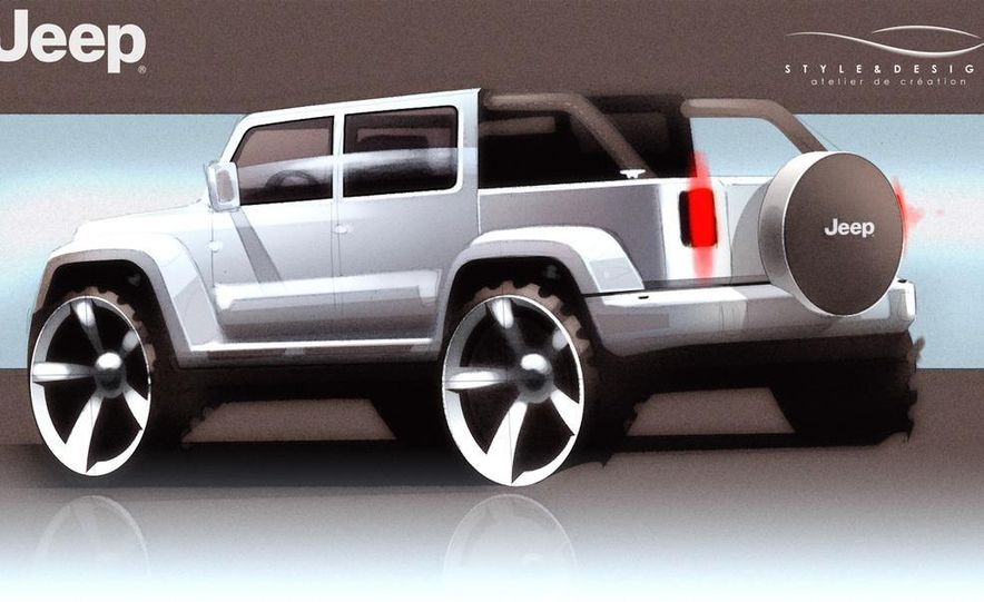 Jeep Wrangler Nautic Concept by Style and Design - Slide 16