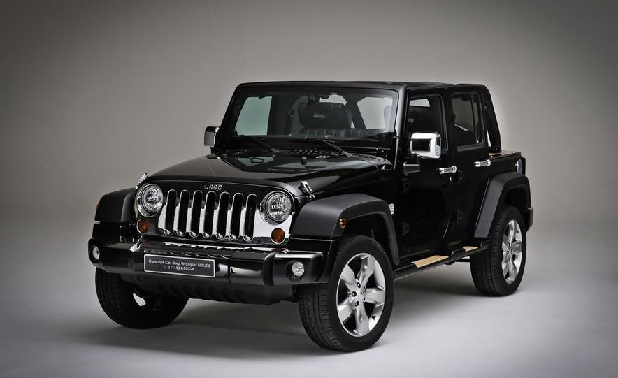 Jeep Wrangler Nautic Concept by Style and Design - Slide 1