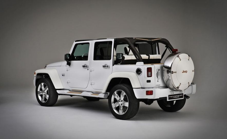 Jeep Wrangler Nautic Concept by Style and Design - Slide 8