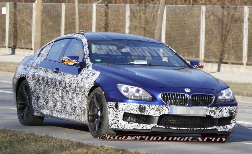 2014 BMW M6 Gran Coupé (spy photo) - Slide 1
