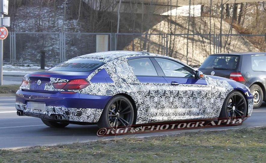 2014 BMW M6 Gran Coupé (spy photo) - Slide 2