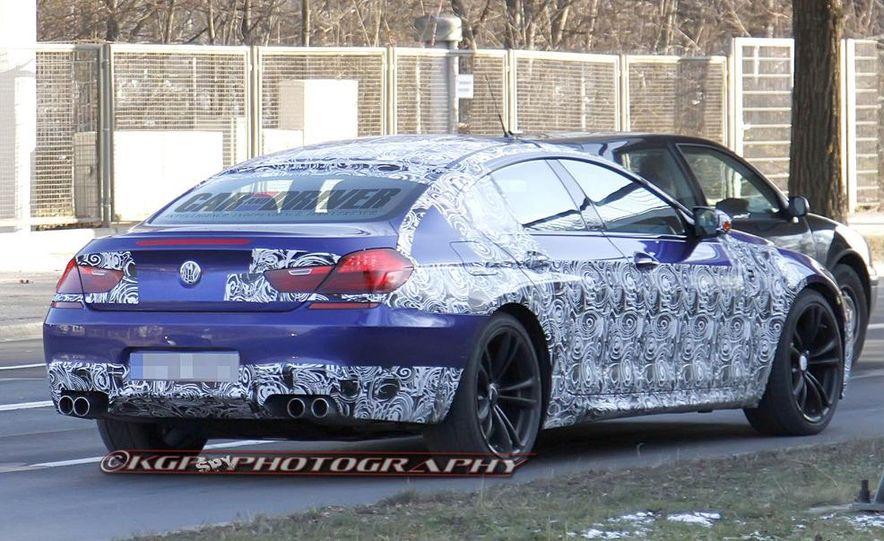 2014 BMW M6 Gran Coupé (spy photo) - Slide 3