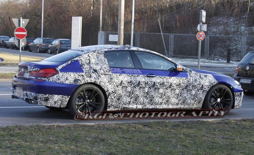 2014 BMW M6 Gran Coupé (spy photo) - Slide 5