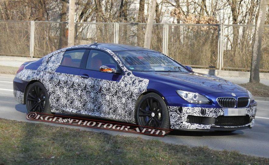 2014 BMW M6 Gran Coupé (spy photo) - Slide 7