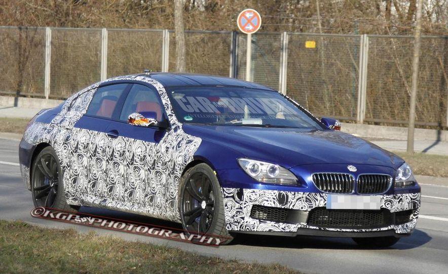 2014 BMW M6 Gran Coupé (spy photo) - Slide 8