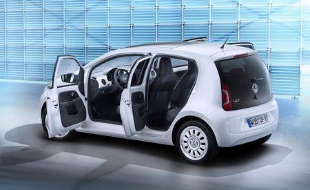 Volkswagen Introduces Five-Door Up! Variant for Europe