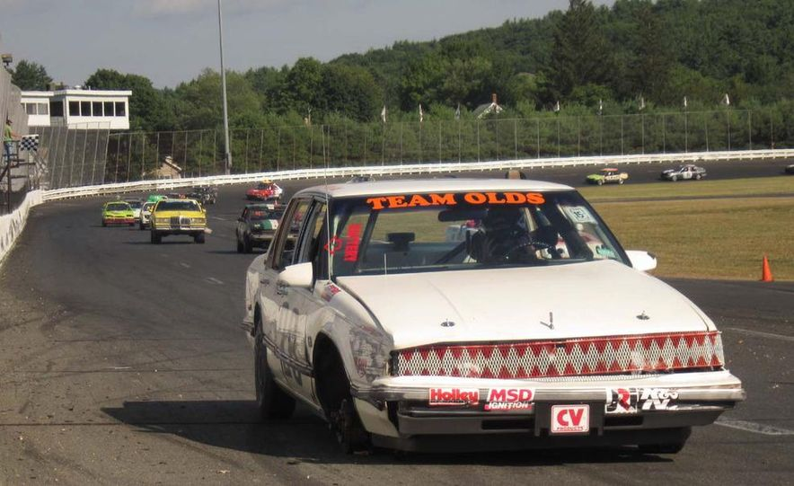 Team Olds Cutlass at Boston Tow Party 24 Hours of LeMons - Slide 1