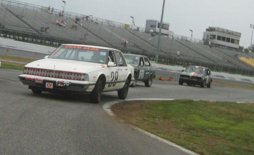 Team Olds Cutlass at Boston Tow Party 24 Hours of LeMons - Slide 4
