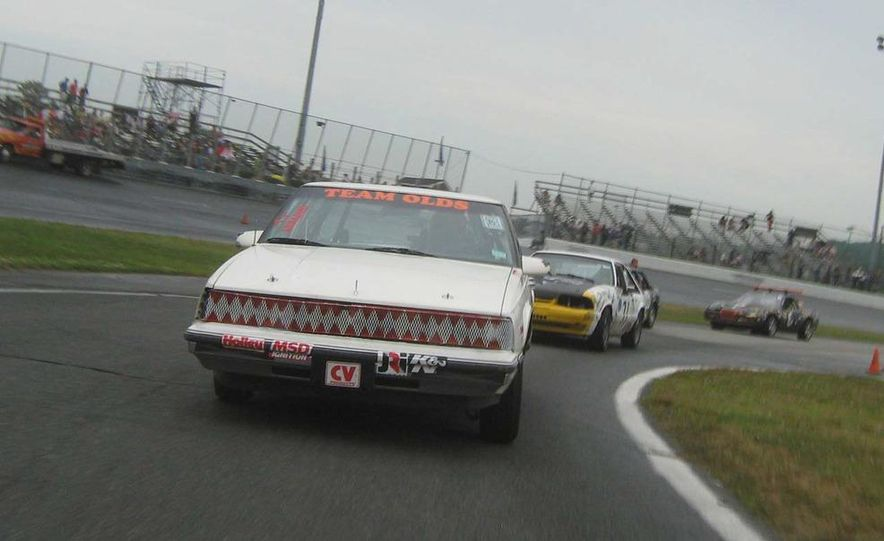 Team Olds Cutlass at Boston Tow Party 24 Hours of LeMons - Slide 7