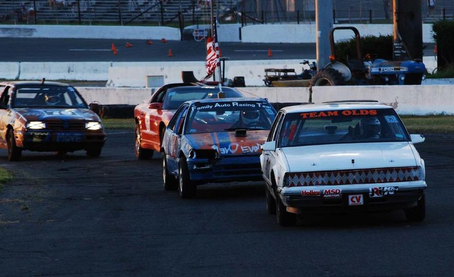 Team Olds Cutlass at Boston Tow Party 24 Hours of LeMons - Slide 10