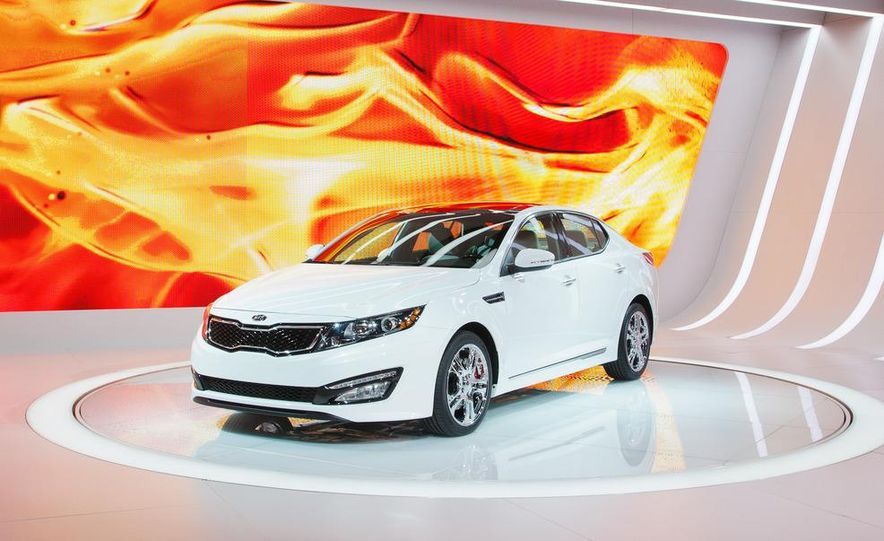 2012 Kia Optima SX Limited - Slide 1