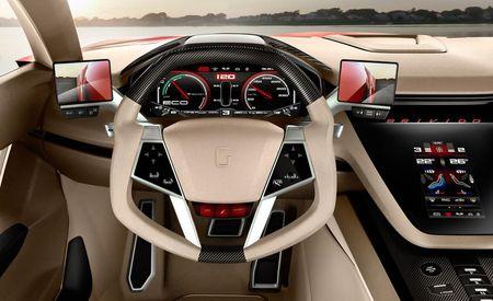 Italdesign Giugiaro's Brivido is a Hybrid Sports Coupe with VW Running Gear [Geneva Auto Show]