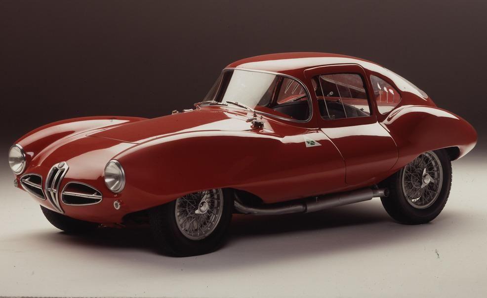 Touring Superleggera Celebrates 1950s Alfa Romeo Disco Volante With
