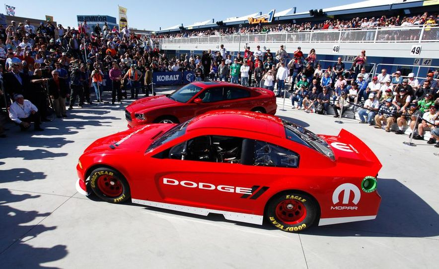 2012 Dodge Charger R/T and 2013 Dodge Charger NASCAR Sprint Cup Car - Slide 3