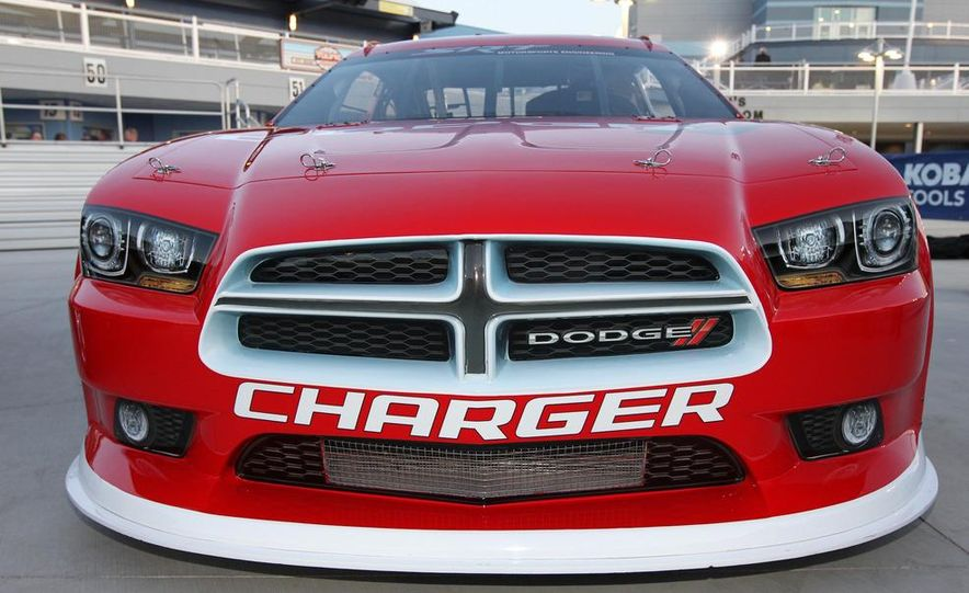 2012 Dodge Charger R/T and 2013 Dodge Charger NASCAR Sprint Cup Car - Slide 4