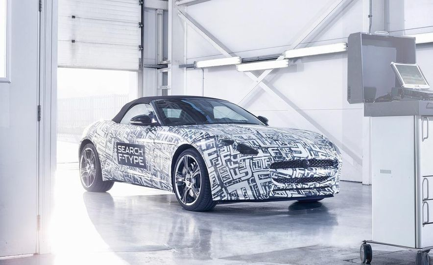 Jaguar F-Type convertible (prototype) - Slide 4