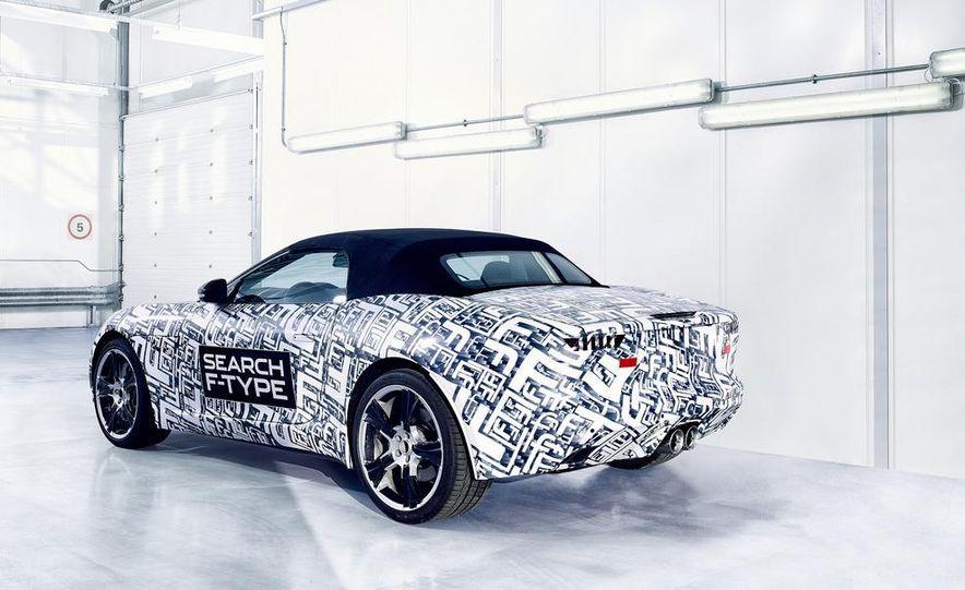 Jaguar F-Type convertible (prototype) - Slide 5