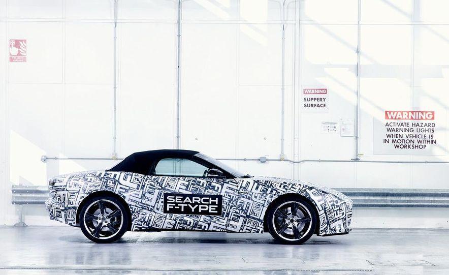 Jaguar F-Type convertible (prototype) - Slide 6