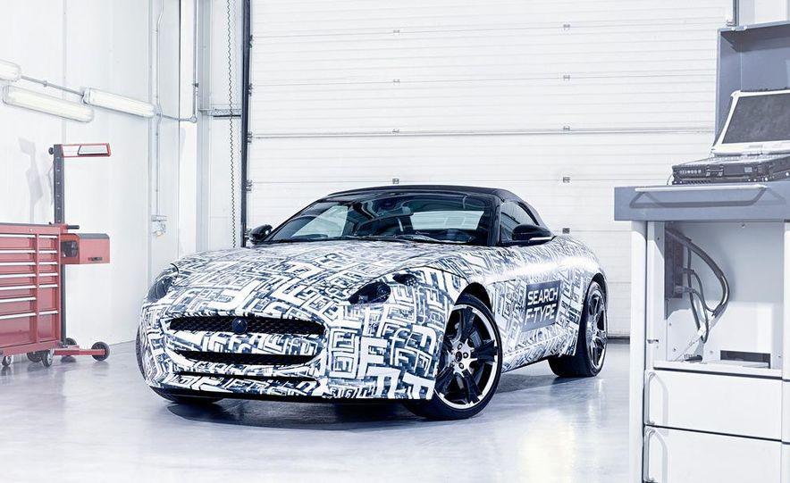 Jaguar F-Type convertible (prototype) - Slide 7
