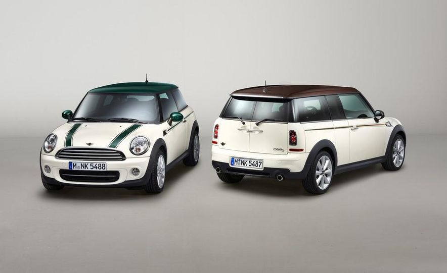 Mini Cooper Green Park and Cooper S Clubman Hyde Park Special Editions - Slide 1