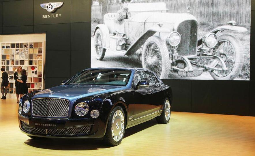 Bentley Mulsanne Diamond Jubilee Edition - Slide 1